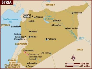 siria maps